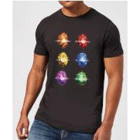 Avengers Infinity Stones Men's T-Shirt - Black - 3XL - Black
