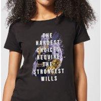 Image of Avengers The Strongest Will Women's T-Shirt - Black - 5XL - Black