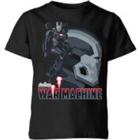 Avengers War Machine Kids' T-Shirt - Black - 9-10 Years - Black