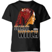 Avengers Scarlet Witch Kids' T-Shirt - Black - 9-10 Years - Black