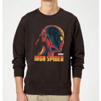 Avengers Iron Spider Sweatshirt - Black - 5XL - Black - Spider Gifts