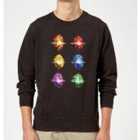 Avengers Infinity Stones Sweatshirt - Black - S - Black
