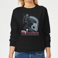 Avengers War Machine Women's Sweatshirt - Black - XS - Black