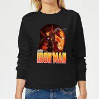 Avengers Iron Man Women's Sweatshirt - Black - L - Black