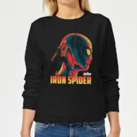 Avengers Iron Spider Women's Sweatshirt - Black - XS - Black - Spider Gifts