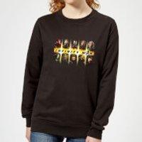 Avengers Team Lineup Women's Sweatshirt - Black - 4XL - Black