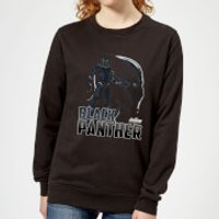 Avengers Black Panther Women's Sweatshirt - Black - S - Black