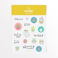 Owlsome Sticker Pack - Iwoot Gifts