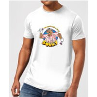 Bullseye Can't Beat A Bit Of Bully Men's T-Shirt - White - XXL - White - Clothing Gifts