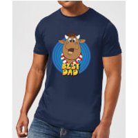 Bullseye Best Dad Men's T-Shirt - Navy - XXL - Navy - Navy Gifts