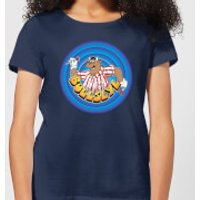 Bullseye Ring Logo Women's T-Shirt - Navy - XXL - Navy - Navy Gifts
