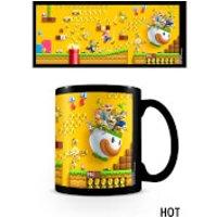 Super Mario (Gold Coin Rush) Heat Changing Mug - Mario Gifts