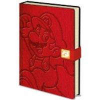 Super Mario (Jump) Premium A5 Notebook - Mario Gifts