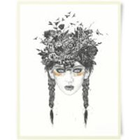 Native Girl Art Print - Girl Gifts