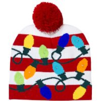 Light Up Knitted Christmas Hat