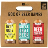 Box of Beer Games - Games Gifts