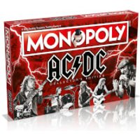 Monopoly AC/DC Board Game - Acdc Gifts