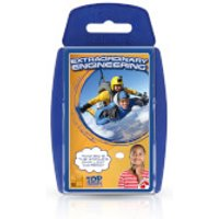 Top Trumps Card Game - STEM Extraordinary Engineering Edition - Engineering Gifts