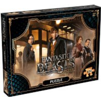 500 Piece Jigsaw Puzzle - Fantastic Beasts Field Edition - Jigsaw Puzzle Gifts