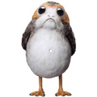 """10"""" Die-Cut Porg-Shaped Picture Disc Limited Edition Vinyl Single"""