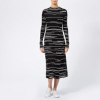 Hugo Silby Fitted Knitted Dress - Black