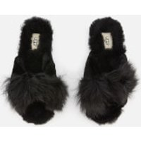 UGG Women's Mirabelle Sheepskin Slide Slippers - Black - UK 6 - Black