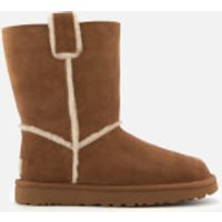 UGG Women's Classic Short Spill Seam Sheepskin Boots - Chestnut - UK 8 - Tan