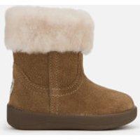 UGG Babie's Jorie II Suede Sheepskin Collar Boots - Chestnut - UK 0.5 Baby - Tan