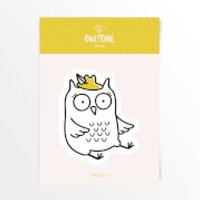 Owlsome Feathered Owl Vinyl Decal