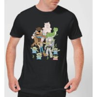 Toy Story Group Shot Men's T-Shirt - Black - XXL - Black