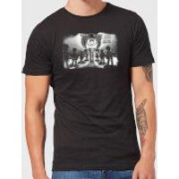 Toy Story Evil Dr Pork Chop Speech Men's T-Shirt - Black - XL - Black