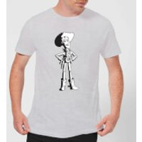 Toy Story Sheriff Woody Mens T-Shirt - Grey - S - Grey