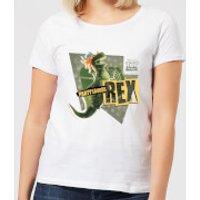 Toy Story Partysaurus Rex Women's T-Shirt - White - XXL - White