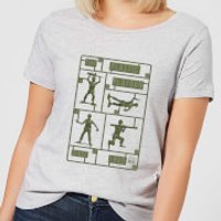 Toy Story Plastic Platoon Women's T-Shirt - Grey - M - Grey