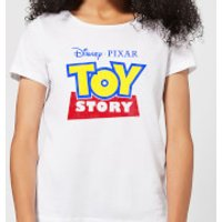 Toy Story Logo Women's T-Shirt - White - 3XL - White