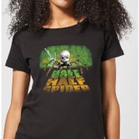 Toy Story Half Doll Half Spider Women's T-Shirt - Black - XS - Black - Spider Gifts