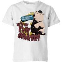 Toy Story Evil Oinker Kids' T-Shirt - White - 5-6 Years - White