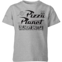 Toy Story Pizza Planet Logo Kids' T-Shirt - Grey - 9-10 Years - Grey
