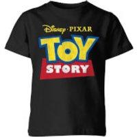 Toy Story Logo Kids' T-Shirt - Black - 11-12 Years - Black - Toy Gifts