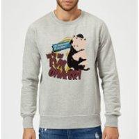 Toy Story Evil Oinker Sweatshirt - Grey - XXL - Grey