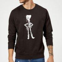 Toy Story Sheriff Woody Sweatshirt - Black - M - Black
