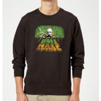 Toy Story Half Doll Half Spider Sweatshirt - Black - 5XL - Black - Spider Gifts