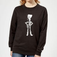 Toy Story Sheriff Woody Womens Sweatshirt - Black - XL - Black