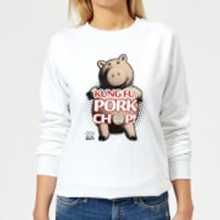 Toy Story Kung Fu Pork Chop Women's Sweatshirt - White - M - White