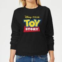 Toy Story Logo Women's Sweatshirt - Black - XXL - Black