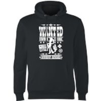 Toy Story Wanted Poster Hoodie - Black - S - Black