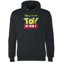 Toy Story Logo Hoodie - Black - XL - Black