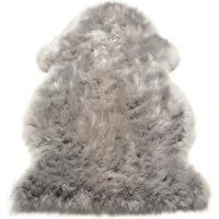Asiatic London Auckland Sheepskin Rug - Silver