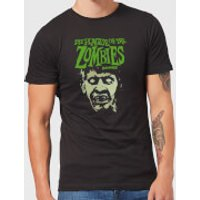 Hammer Horror Plague Of The Zombies Portrait Men's T-Shirt - Black - 5XL - Black - Zombies Gifts