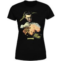Hammer Horror Dracula Don't Dare See It Alone Women's T-Shirt - Black - XS - Black